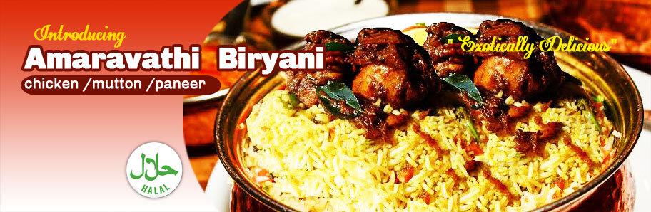 Amaravathi Biryani